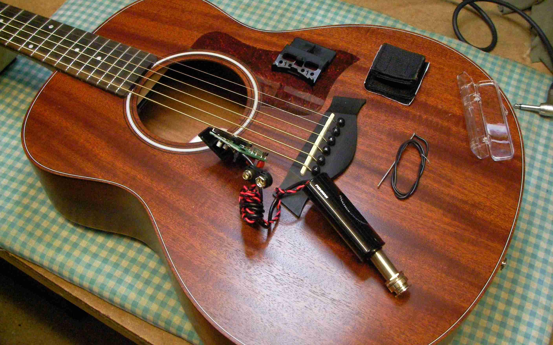 Taylor Gs Mini Electric Pickup Guitar George