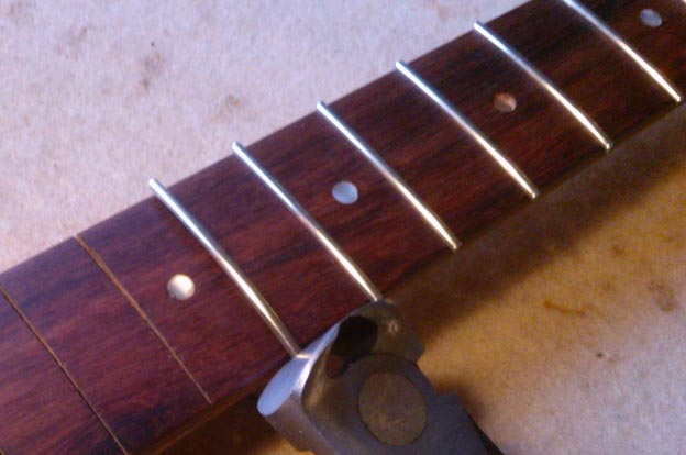 Fret Replacement by Guitar George