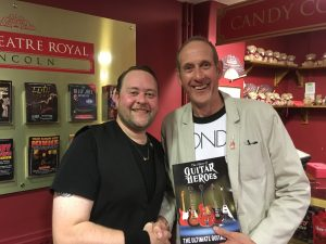 Guitar George with Phil Walker at the New Theatre Royal Lincoln